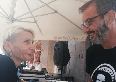 Tremen tapas Bar Santiago de la Ribera Lourdes y DJ Gus