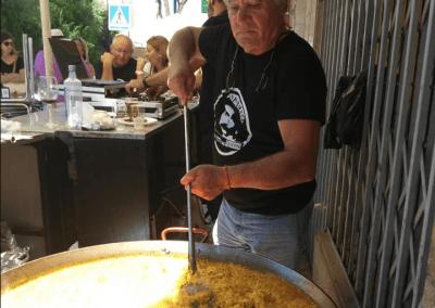 Tremen tapas Bar Santiago de la Ribera gratis paella