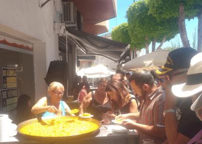 Tremen tapas Bar Santiago de la Ribera paella gratis