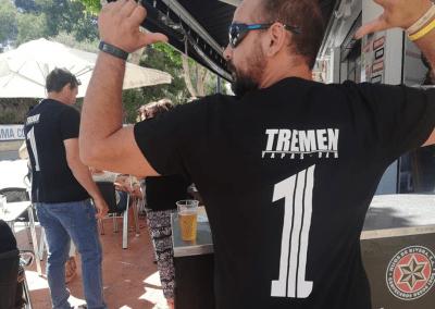 Tremen tapas Bar Santiago de la Ribera camiseta 1