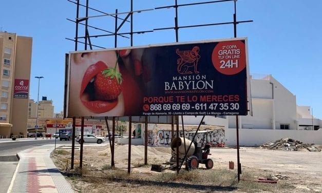 Vallas publicitarias en San Javier