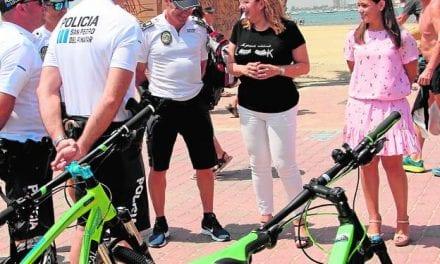 Se incrementará la vigilancia en paseos marítimos y costa de San Pedro por parte de la Policía de Playas