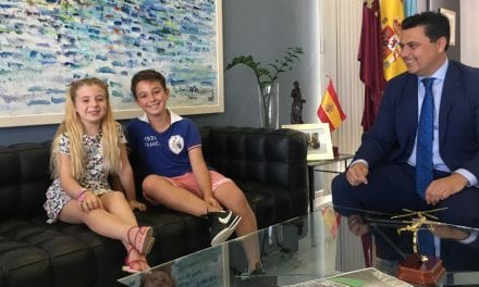 """Dos niños de San Javier participarán en la final europea de baile """"Vive tu sueño"""" en Roma"""