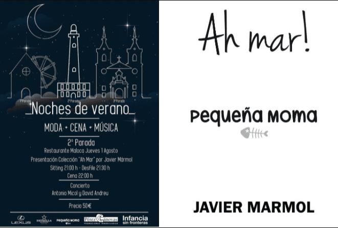El Mar Menor conquista la moda gracias a Javier Mármol y su colección 'Pequeña Moma'