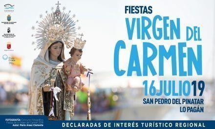Fiestas de la Virgen del Carmen 2019 en Lo Pagán, San Pedro del Pinatar