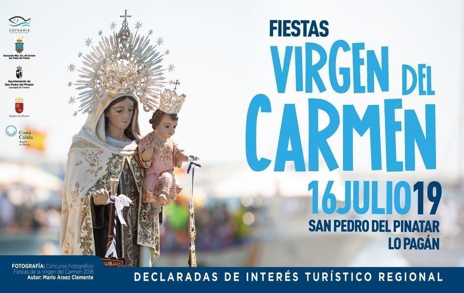 Programa Fiestas de la Virgen del Carmen 2019 en Lo Pagán, San Pedro del Pinatar