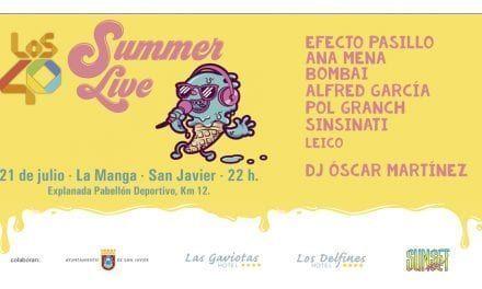 Los 40 Summer Live 2019 en La Manga del Mar Menor