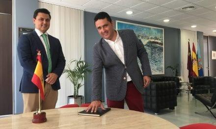 Mauricio Ruiz Sáez toma posesión como alcalde pedáneo de Santiago de la Ribera