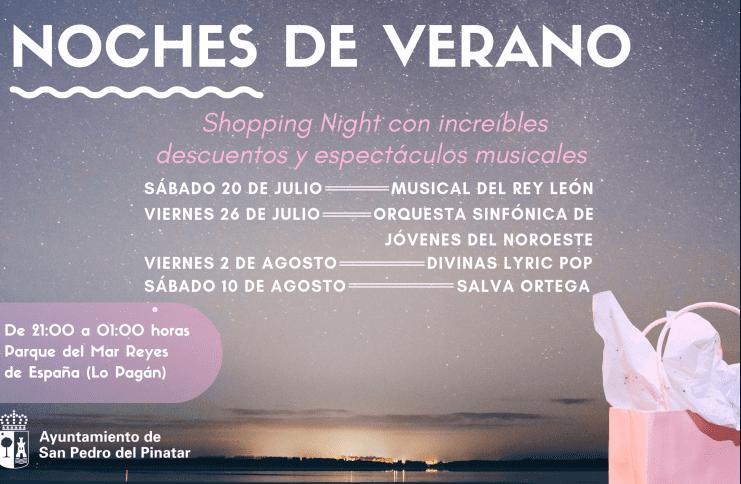 Noches de verano 2019 en Lo Pagán, San Pedro del Pinatar