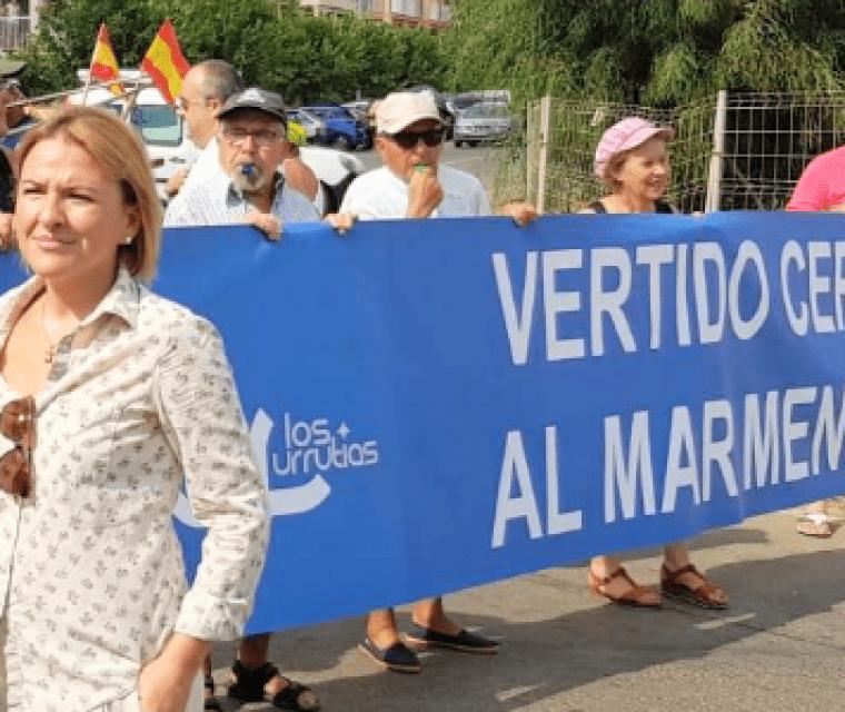 """Presidenta de Somos Cartagena Somos Región: """"El Mar Menor no puede esperar más"""""""