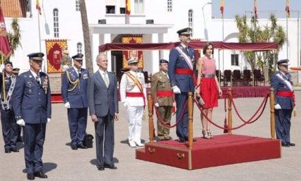 Los Reyes presidirán El 11 de julio será la entrega de despachos en la Academia General del Aire en San Javier y estará presidido por  los reyes