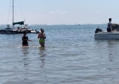 Degradación y reducción de la zona de baño en Playa de Castillicos en Santiago de La Ribera 6