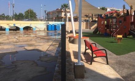 El Ayuntamiento de Los Alcázares denuncia el estado del tanque de tormentas construido por la CARM en 2016