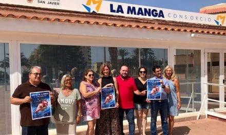 Las fiestas de La Manga del Mar Menor 2019 se anuncia ya en un cartel que recurre a la flota y fauna autóctonas