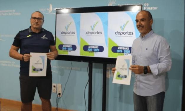 Más de una treintena de modalidades deportivas para la programación deportiva para el curso 2019-2020 en San Pedro del Pinatar