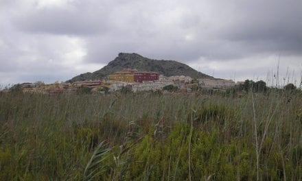 Marina del Carmolí, un espacio protegido incluido en los Espacios abiertos e islas del Mar Menor