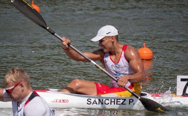 Pablo Sánchez de la Escuela de Piragüismo Mar Menor, bronce en el Mundial júnior