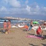 Las playas de La Manga del Mar Menor recuperan su aspecto tras el último temporal de viento