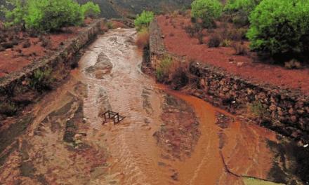 Vecinos de la Sierra Minera denuncian nuevos arrastres de metales pesados al Mar Menor