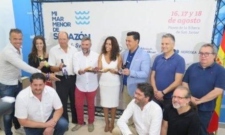 Degustaciones en la feria Mi Mar Menor de Salazón de Santiago de la Ribera