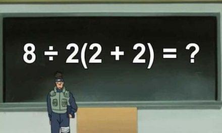 Problema matemático que se ha hecho viral.