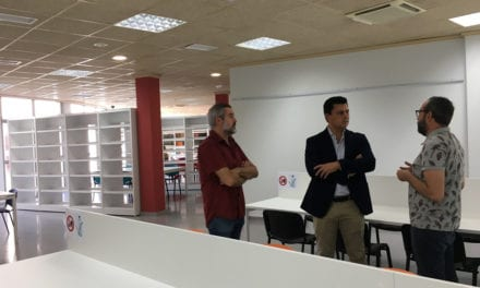 200 nuevos puestos de lectura en la Biblioteca de San Javier