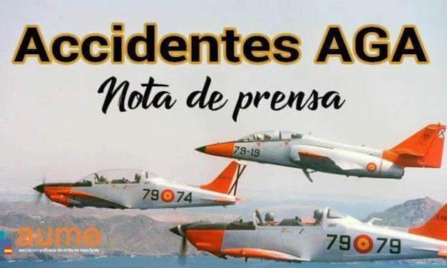 AUME solicita transparencia para que se esclarezcan los accidentes del Ejército del Aire