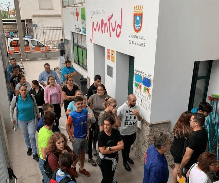 Abierto un centro de donaciones para los afectados por las inundaciones en San Javier