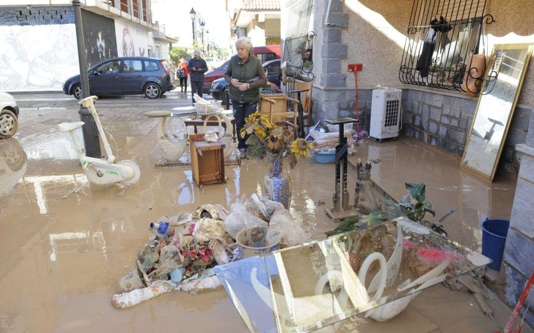 Situación extrema en Los Alcázares