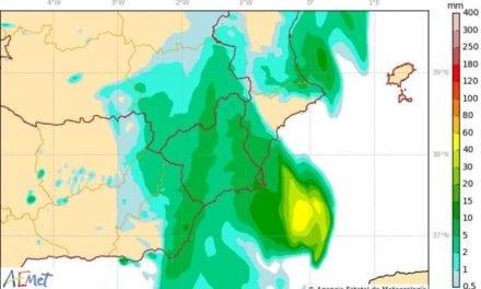 Se esperan lluvias muy fuertes en el campo de Cartagena