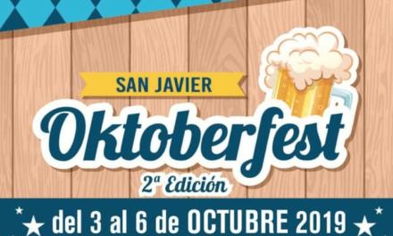 Horarios y programa del Oktoberfest 2019  de San Javier
