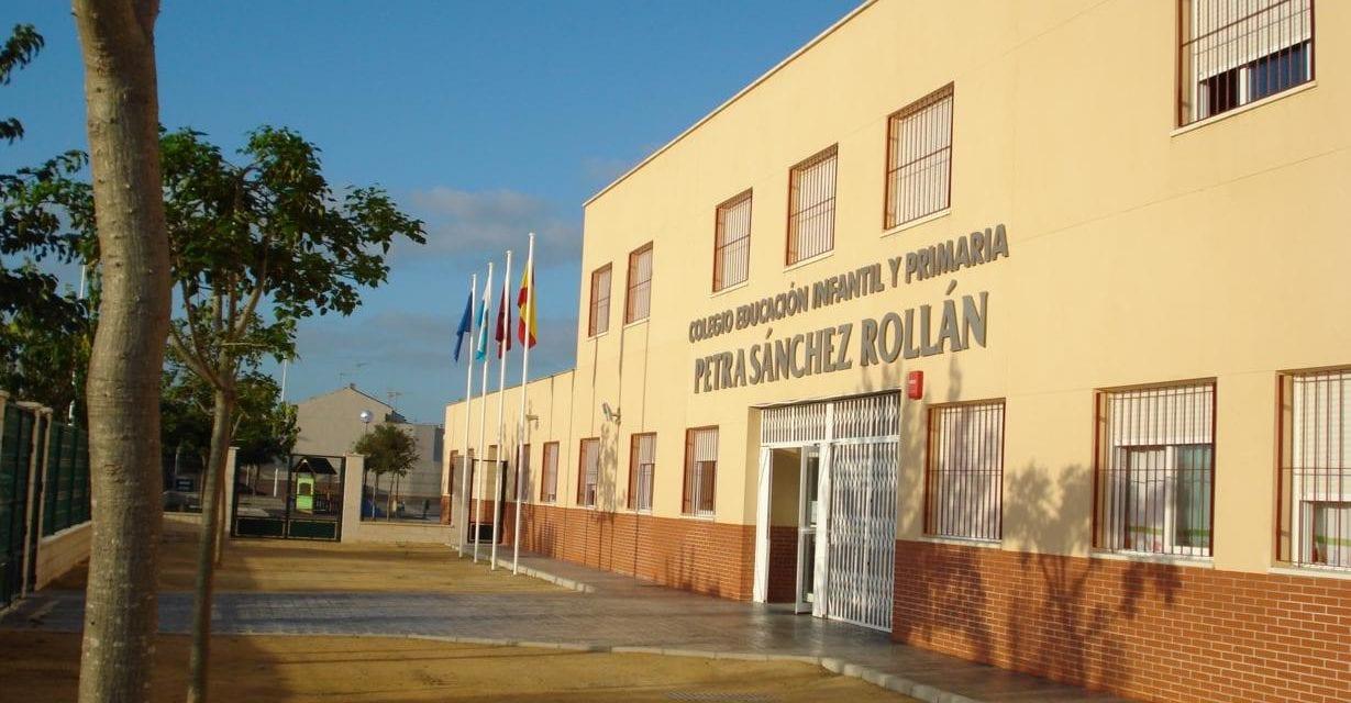 El colegio Petra Sánchez Rollán  de Los Alcázares reanudará el lunes sus clases