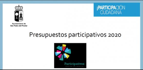 Fase de votación de los presupuestos participativos 2020 en San Pedro del Pinatar