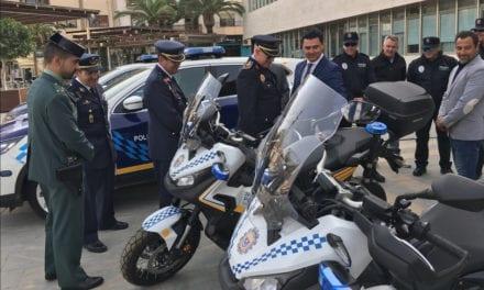 La Policía Local de San Javier estrena uniforme y nuevos vehículos