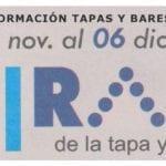 Información de tapas y bares que participan en La Ruta de la Tapa San Javier 2019