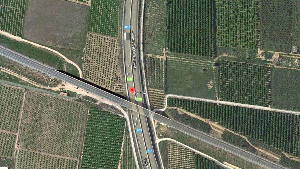 Un conductor kamikaze muere y deja 4 heridos en la AP-7 en San Javier, Murcia