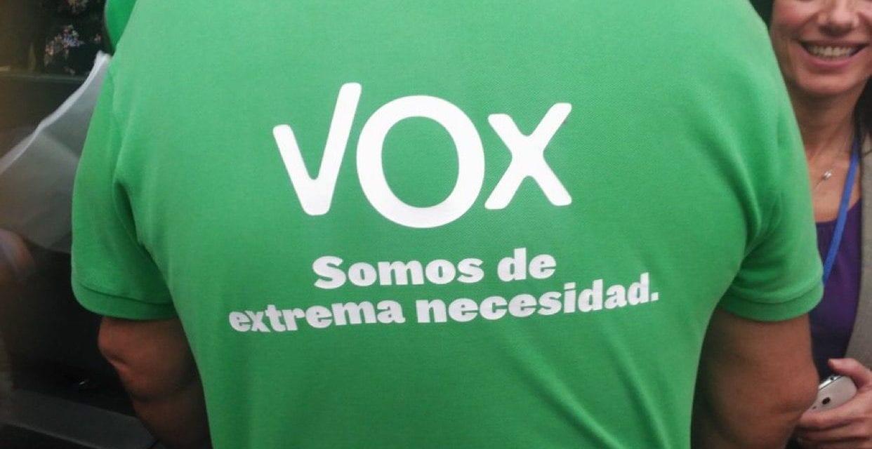 VOX se ha convertido en la primera fuerza política en Murcia
