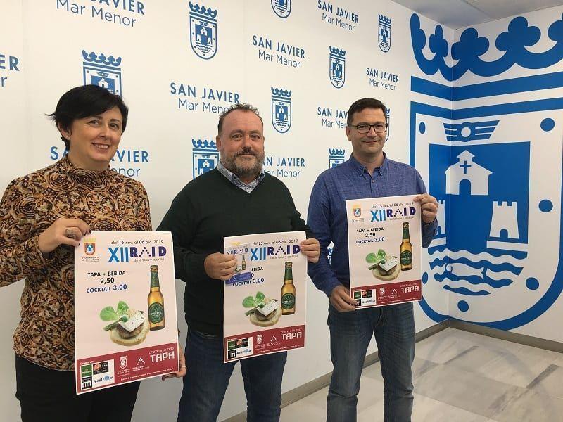 XII (Ruta) Raid de la Tapa San Javier 2019 del 15 de noviembre al 6 de diciembre - MarMenorNoticias.com