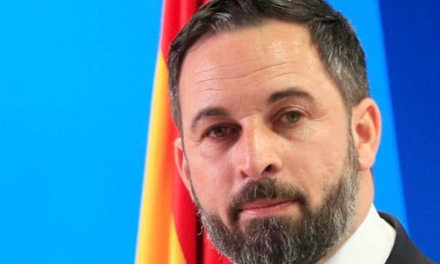 Santiago Abascal visita San Javier