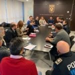 El Ayuntamiento de San Javier inicia las labores de limpieza tras el temporal