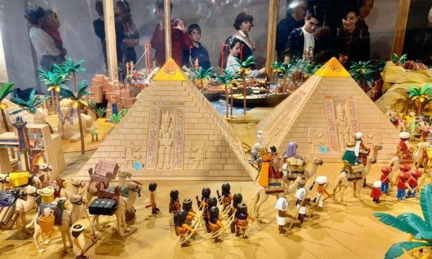 El Belén Playmobil-Hidrogea vuelve al Museo de San Javier con más de 5000 piezas