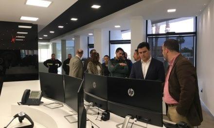 El nuevo base central de Servicio Municipal de Emergencias de San Javier