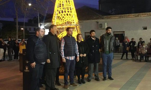Loterías y Apuestas del Estado ilumina la navidad en Los Alcázares