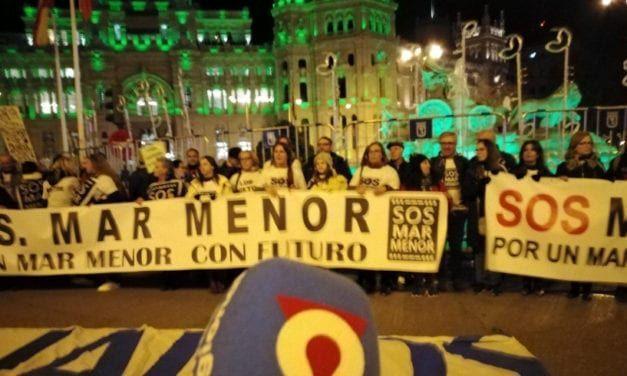 La Plataforma SOS Mar Menor en la manifestación de la Cumbre del Clima en Madrid