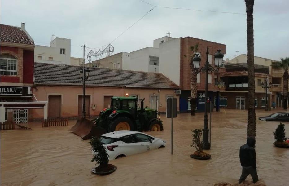 Las lluvias por la nueva DANA remiten y dejan paso a fuertes rachas de viento