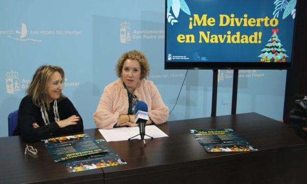 """""""Me divierto en Navidad 2019"""" propone talleres de diferentes temáticas para los niños en San Pedro del Pinatar"""