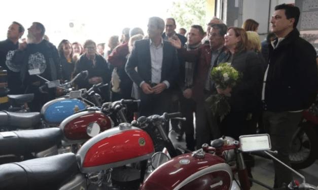 Una exposición permanente de motos clásicas en en San Pedro del Pinatar