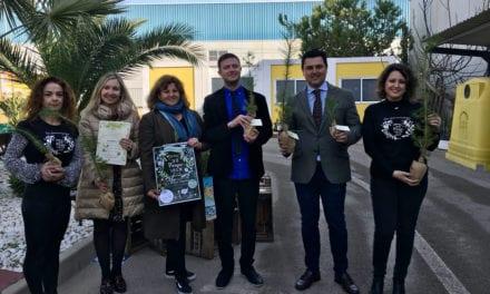 """Apadrinamiento de árboles en el """"Reto 2020"""" en San Javier"""