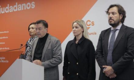Ciudadanos apoyará la tramitación de las medidas de protección del Mar Menor a través de un proyecto de ley