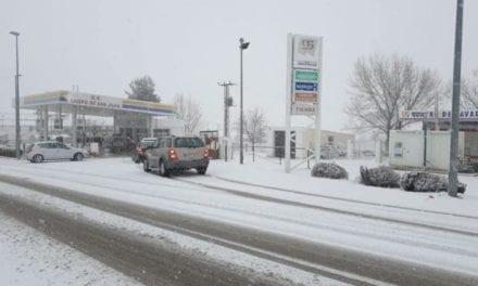 Cortadas dos carreteras en la Región de Murcia por la culpa del temporal